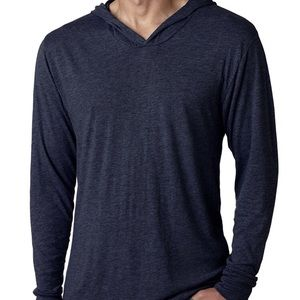Next Level Men's Long-Sleeved Hoodie